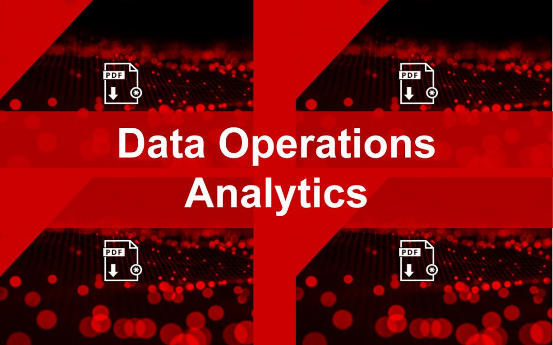 Data Operations for Analytics