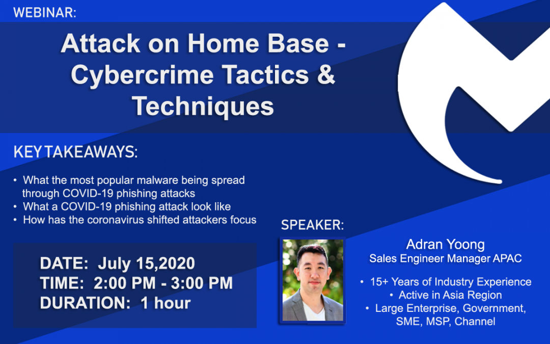 WEBINAR: Attack on Homebase – Cybercrime Tactics and Techniques