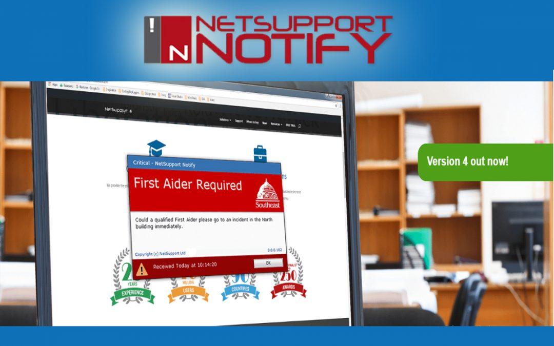 Desktop Alerting and Notification – NetSupport Notify