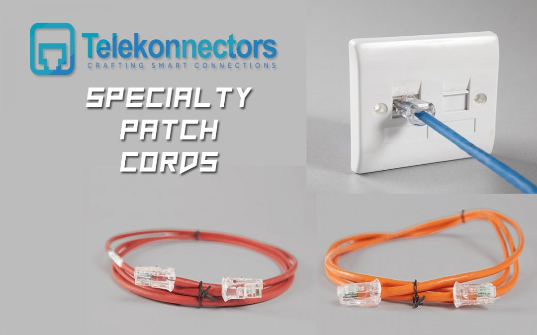 SPECIALTY PATCH CORDS by Telekonnectors