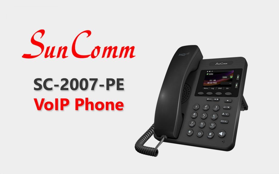 SC-2007-PE/ SC-2007-IP IP Phone with TR-069