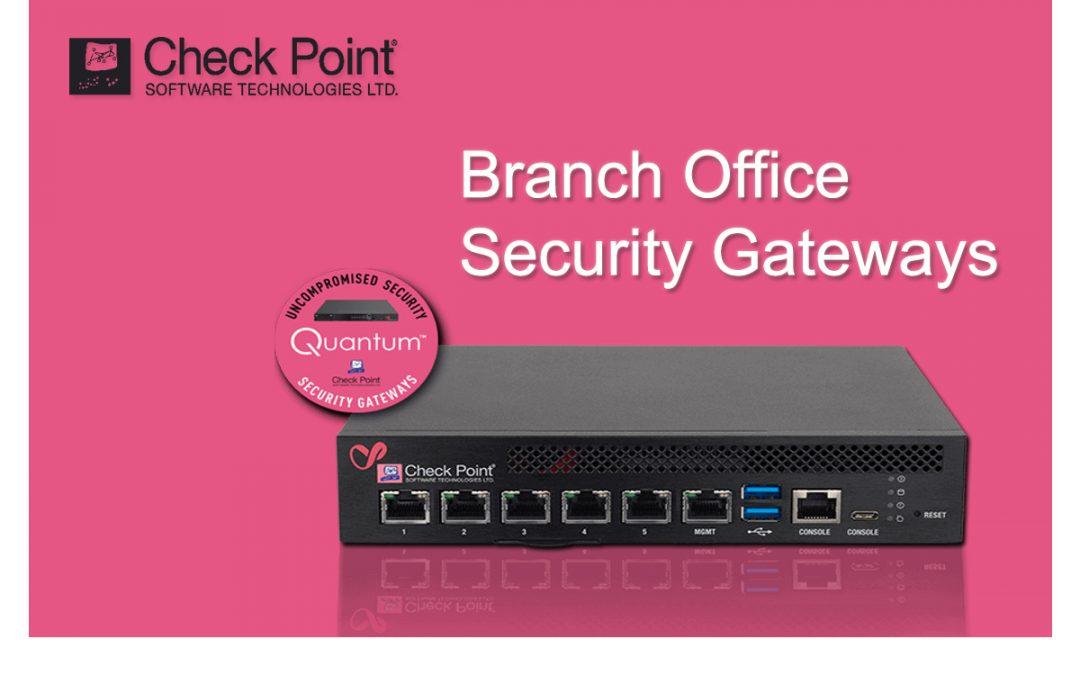 Branch Office Security Gateways