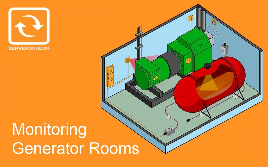 Generator Rooms Monitoring by ServersCheck